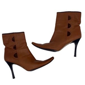 Davos Gomma Brown Leather Boots
